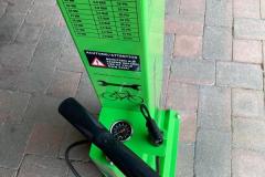 Fahrrad-Reparatur-Station-Luftpumpe